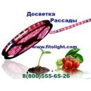 Светодиодная лента для роста растений GLSF014W 14,4Вт (72Вт) IP44